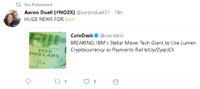 Stellar news breaks